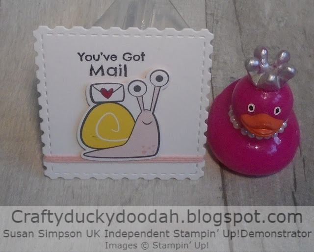 Craftyduckydoodah, Snail Mail Suite, Snailed It, Stampin' Up, 2021,
