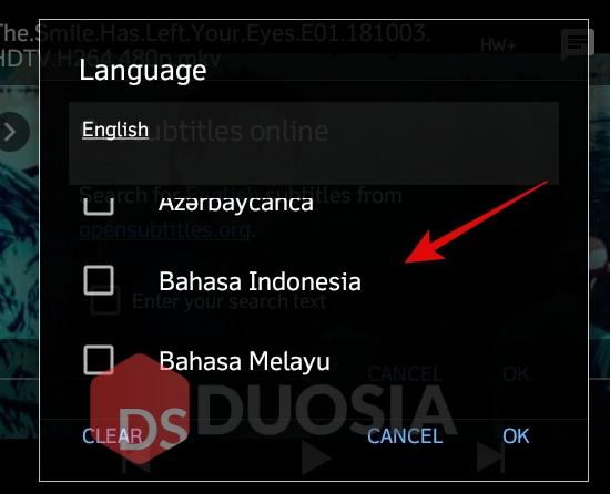 cara download subtitle indonesia di android
