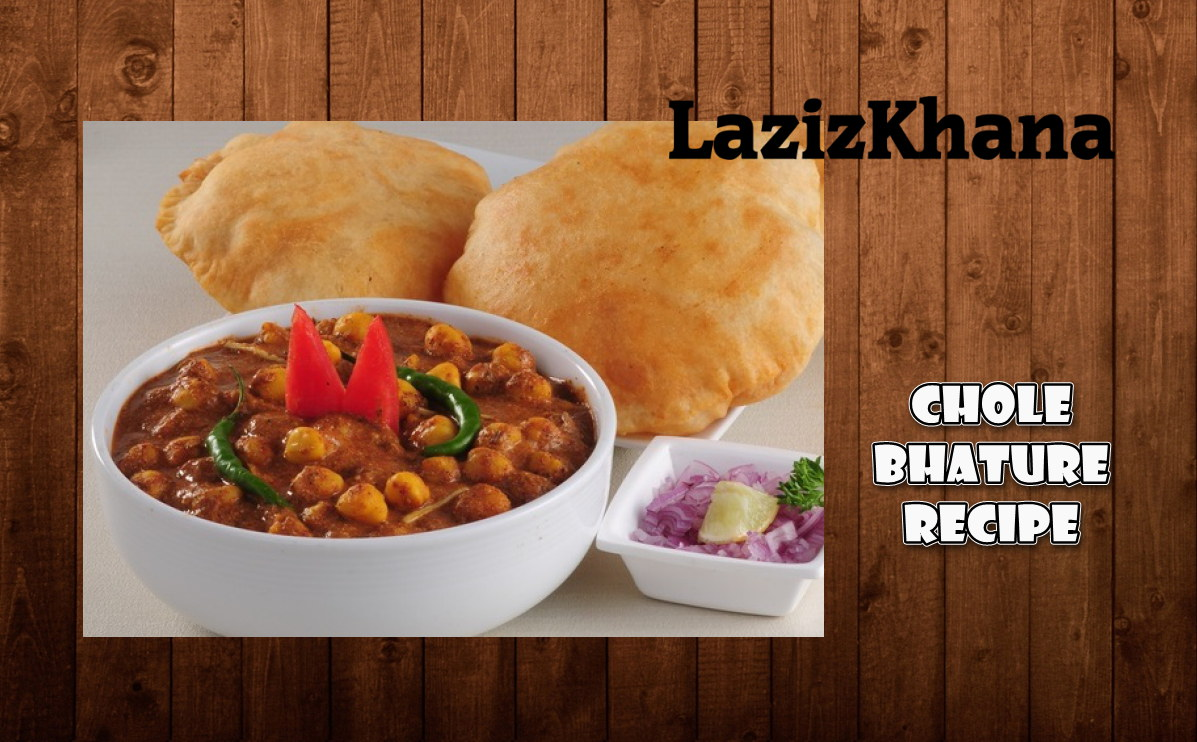 Chole Bhature Recipe in Roman English - Chole Bhature Banane ka Tarika in Hindi/Urdu