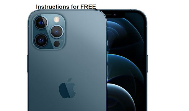 iPhone 12 pro max instructions