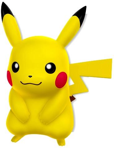 Dibujo de Pikachu a colores