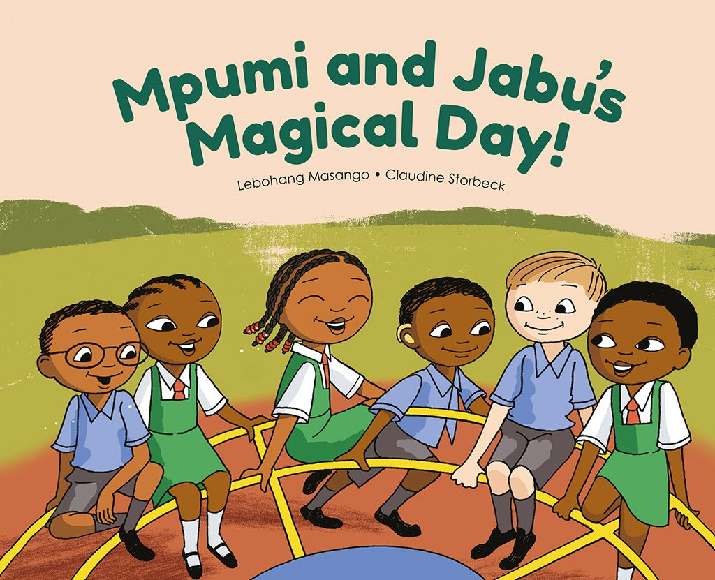 Lebohang Masango & Professor Claudine Storbeck's 'Mpumi And Jabu's Magical Day' Enables Deaf Children To Read The Story In Their First Language