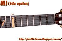 acordes de guitarra mayores 2da opción