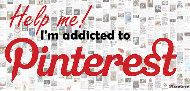 addicted to pinterest
