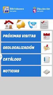 app Bibliobuses de León