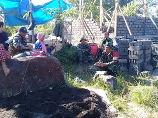 Satgas TMMD Berbaur Ciptakan Kemanunggalan TNI dan Rakyat