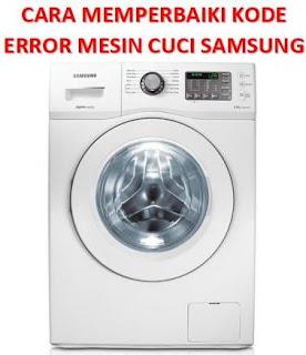 kode error mesin cuci samsung 1 tabung