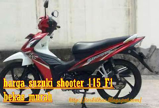 Daftar Harga Motor Suzuki Shooter 115 FI Seken