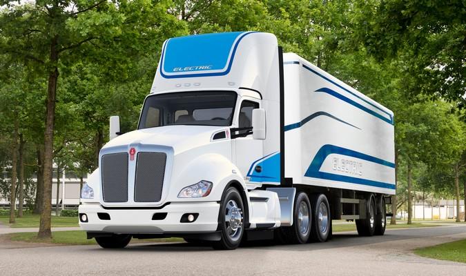 Kenworth apresenta primeiro caminhão pesado 100% elétrico