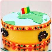 Tarta fondant Guinea