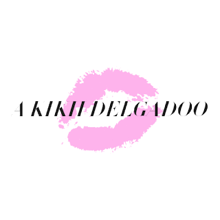 O logotipo do blog A Kikii Delgadoo