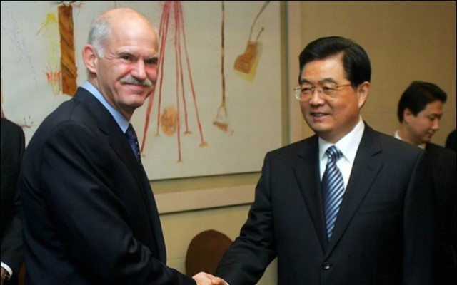 Τα μεγάλα ζητήματα, που απασχολούν τον πλανήτη, συζήτησε την Παρασκευή στο Πεκίνο ο πρόεδρος του ΠΑΣΟΚ και πρόεδρος της Σοσιαλιστικής Διεθνούς Γιώργος Παπανδρέου, στη συνάντηση που είχε με τον πρόεδρο της Κίνας Χου Ζιντάο.