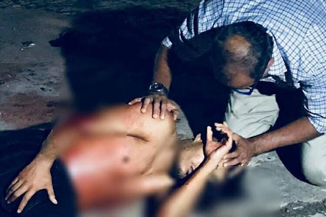Pouco antes de morrer baleado, assaltante pede oração de pastor