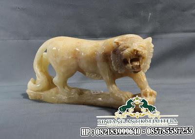 Patung Singa Onyx | Patung Singa Sebagai Lambang Kekuatan dan Kejayaan
