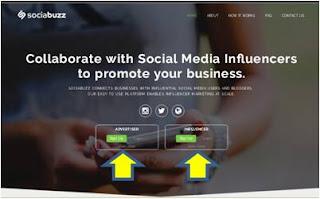 Mendapatkan Penghasilan Dengan Menjadi Buzzer di Media Sosial : Mendaftar SociaBuzz