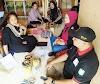 Komunikasi Kemitraan Territorial ( KKT )  Bersama Lembaga Kesejahteraan Sosial ( LKS ) Orang Dengan Gangguan Jiwa ( ODGJ ) Sungai Ambawang Mengunjungi Warga Yang Sedang Sakit Di Wilayah Kakap