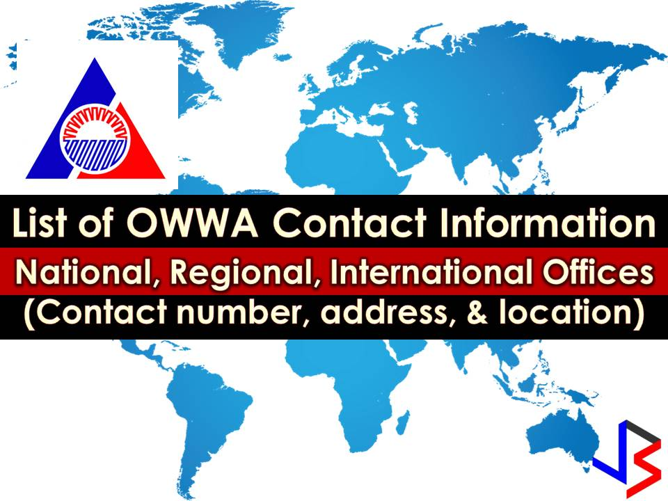 If you are an Overseas Filipino Worker (OFW), aside from a contact number of your families, another most important contact information you should have in your phone is a contact information of a number of an Overseas Workers Welfare Administration (OWWA).  From the name itself, OWWA is tasked to monitor the welfare of overseas workers where they may be in the world. But because there are thousands or even millions of OFW around the world, monitoring one by one is not easy.   This is a reason why as an OFW, you should monitor yourself and know where to go, who to contact, and what to do in case of emergency, maltreatment, and abuse or any untoward circumstances during your work abroad.