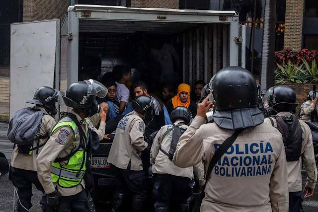 Fiscalía no le imputó delitos a los estudiantes detenidos en El Rosal