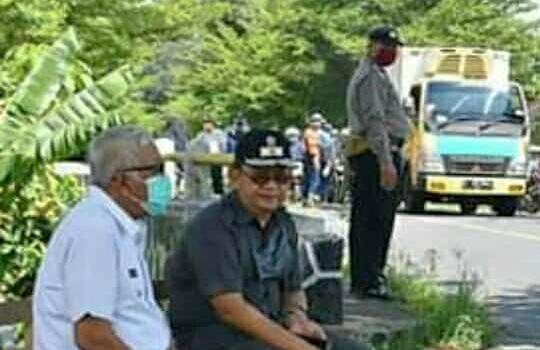 Wakil Bupati H Adang Hadari Lakukan Pemantauan Pengetatan Wilayah Perbatasan Kabupaten Pangandaran