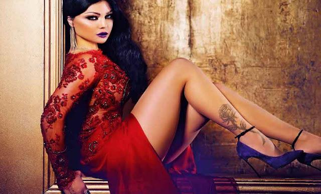 هكذا احتفلت هيفاء وهبي Haifa Wehbe بعيد ميلادها