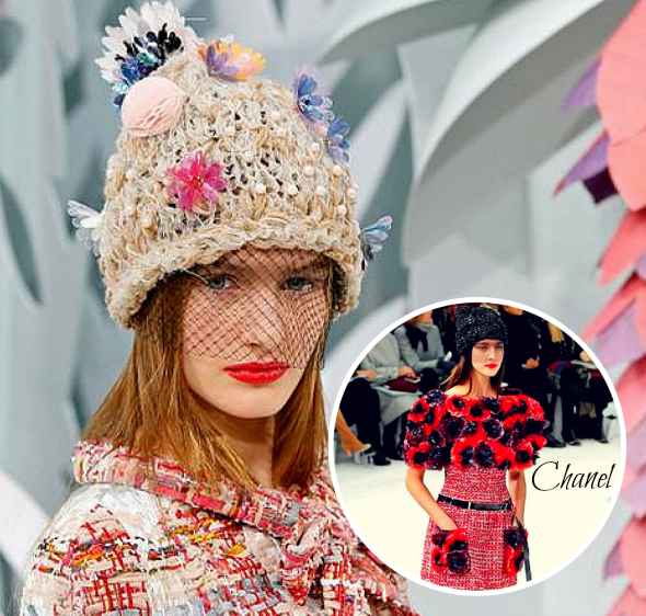 Flower power tendencias moda primavera verano chanel