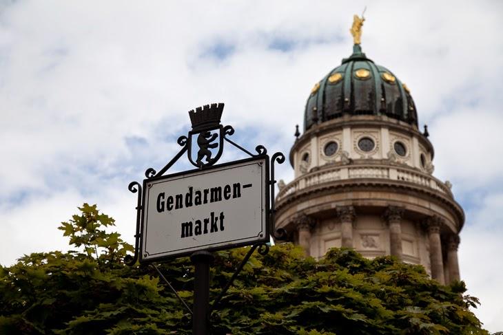 Passagem Gastronômica - Gendarmenmarkt - Berlim - Alemanha