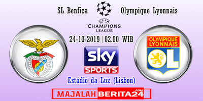 Prediksi Benfica vs Lyon — 23 Oktober 2019