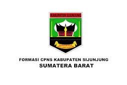 Formasi CPNS Kabupaten Sijunjung Tahun 2019