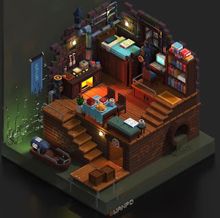 Voxel Art of the Month - September