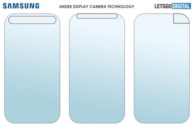 Samsung under-screen cameras