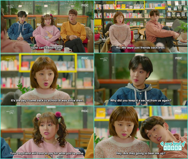 bok jo and joon hyung took their class of secretly dating - Weightlifting Fairy Kim Bok Joo: Episode 14