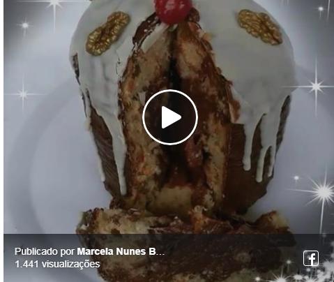 BOM DIA! PESSOAL CURTINDO A LIVE/PANETONE BY MARCELA