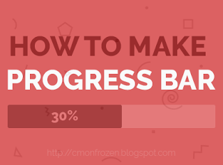Cover How To Make Progress Bar