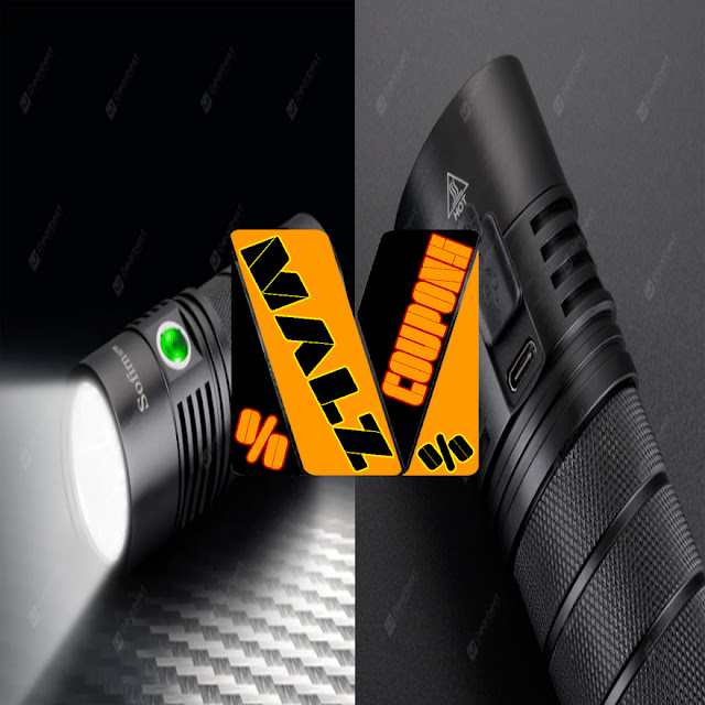 Flashlight Rechargeable IPX7 Brand  Utorch Sofirn SP36 ( Discount 38%OFF )