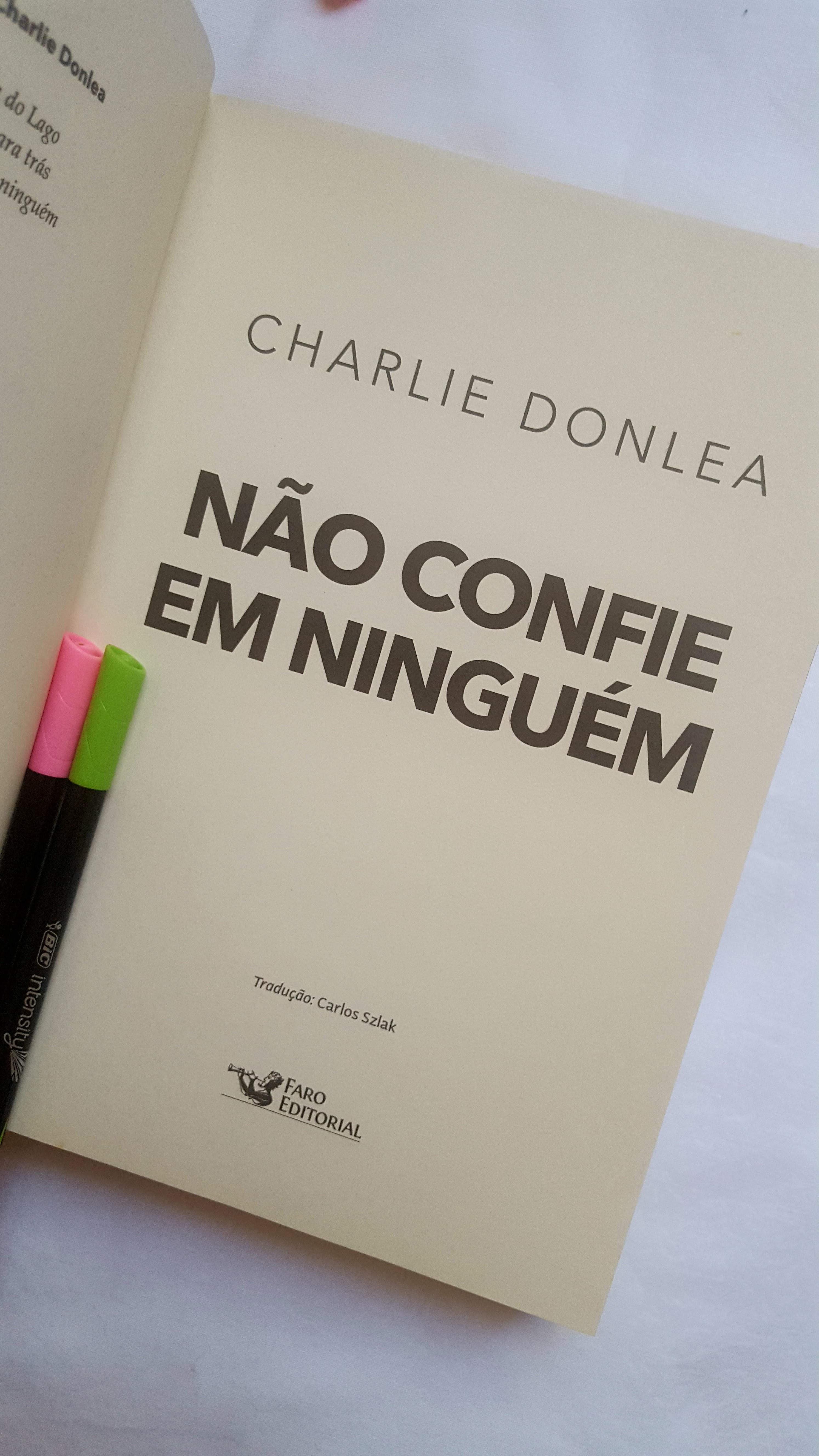 Não confie em ninguém | Charlie Donlea