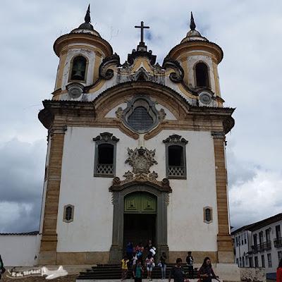 Igreja Nossa Senhora do Carmo, Praça Minas Gerais, Mariana, Minas Gerais.