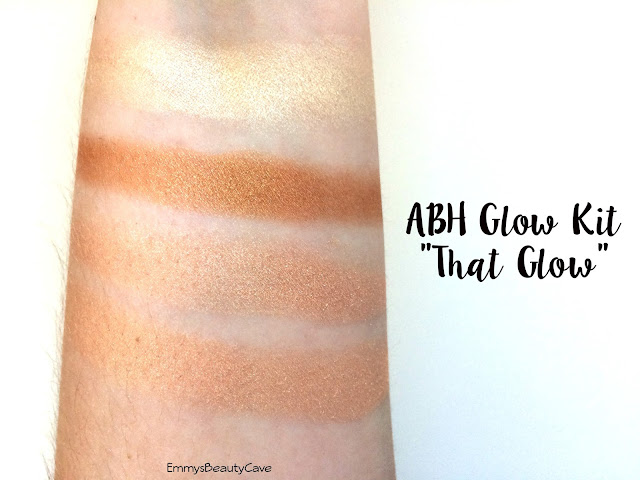 Anastasia Beverly Hills Glow Kit That Glow Swatches