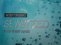 Review Seaweed masker van de Action