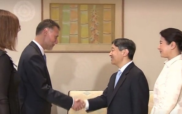 Croatian Parliament Speaker Gordan Jandrokovic and his wife Sonja makes a 3 day official visit to Japan. Tadari Oshima