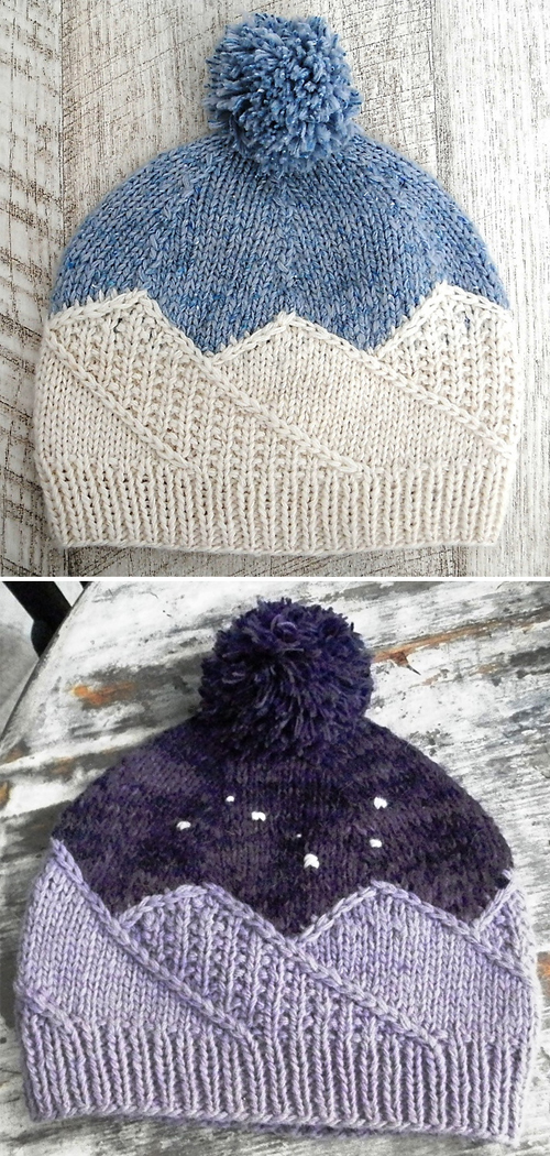 Big Dipper Hat - Knitting Pattern