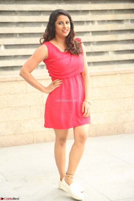 Shravya Reddy in Short Tight Red Dress Spicy Pics ~  Exclusive Pics 001.JPG