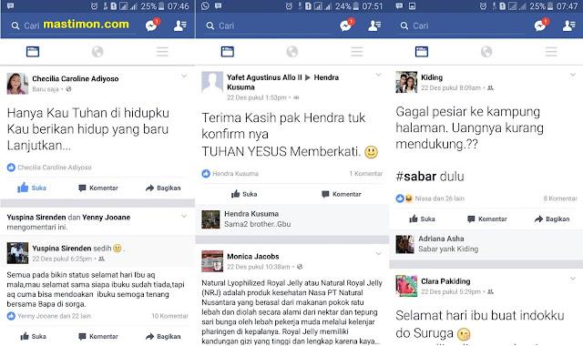 Cara membuat tulisan status BESAR di Facebook dengan mudah
