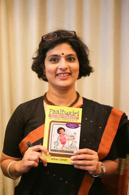 Interview with author Janhavi Samant