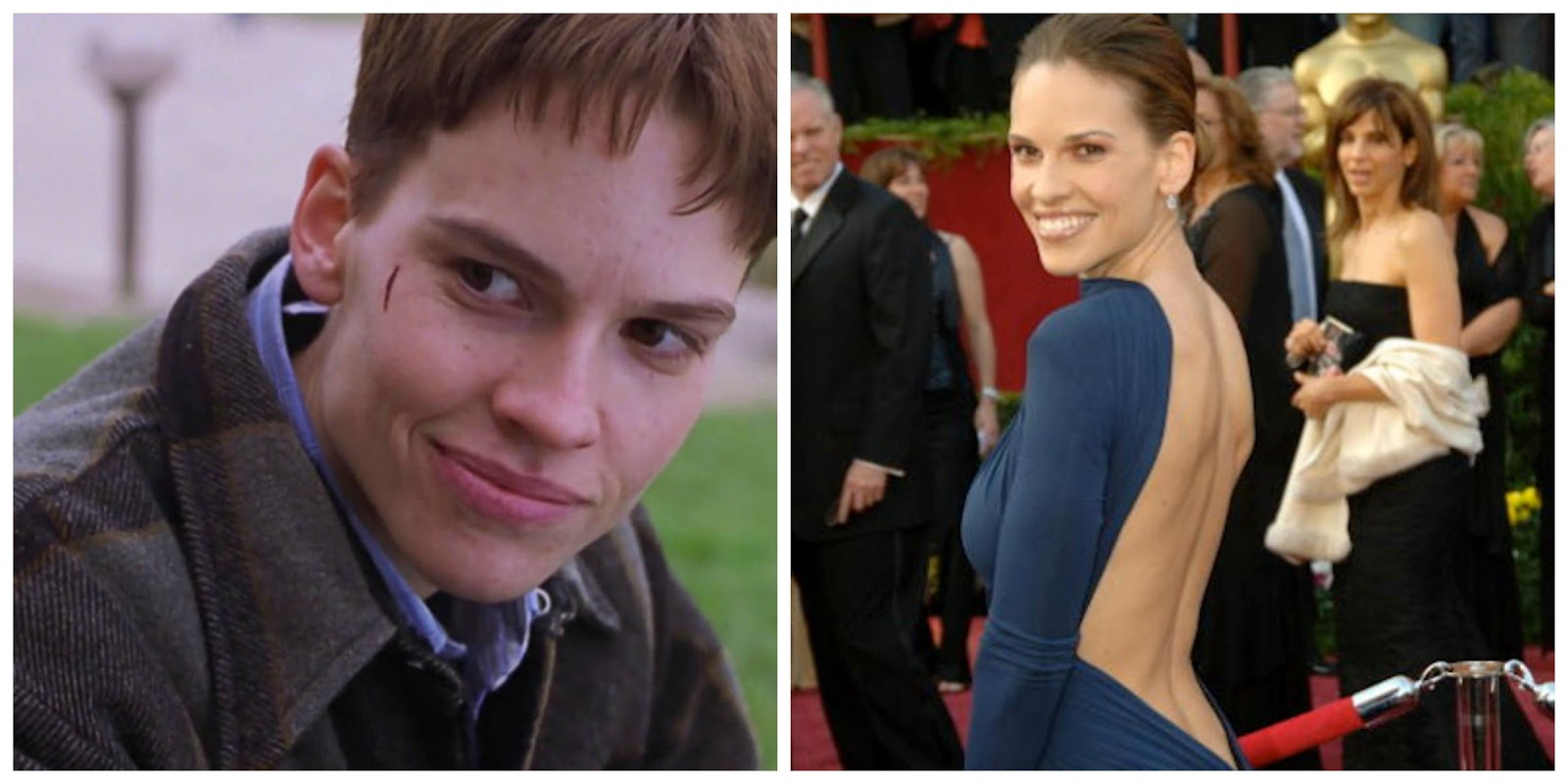 Image result for hilary swank boys don't cry transformation
