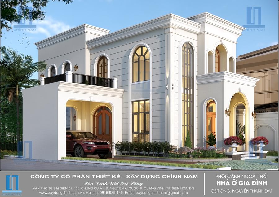 BT43: Biệt thự phong cách Địa Trung Hải ở Tân Phong - Biên Hòa