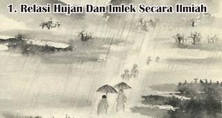 Relasi Hujan Dan Imlek Secara Ilmiah merupakan salah satu fakta unik hujan saat imlek