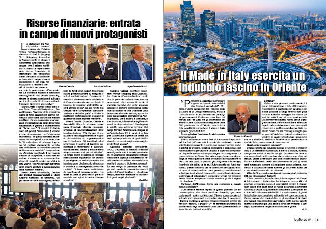 LUGLIO 2019 PAG. 15 - Il Made in Italy esercita un indubbio fascino in Oriente