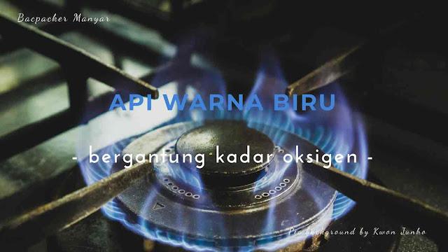 api warna biru