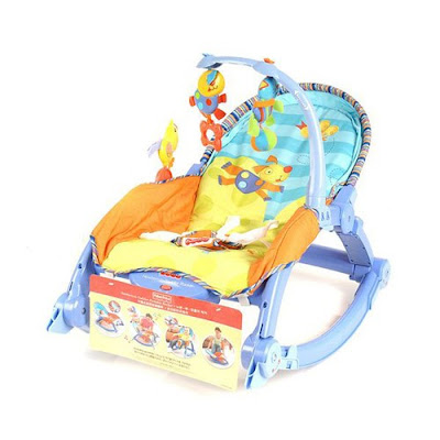 Tinh nang cach dung ghe rung Fisher Price cho be