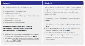 Cara Memohon i-Sinar Online KWSP Bagi Permohonan Kategori 1